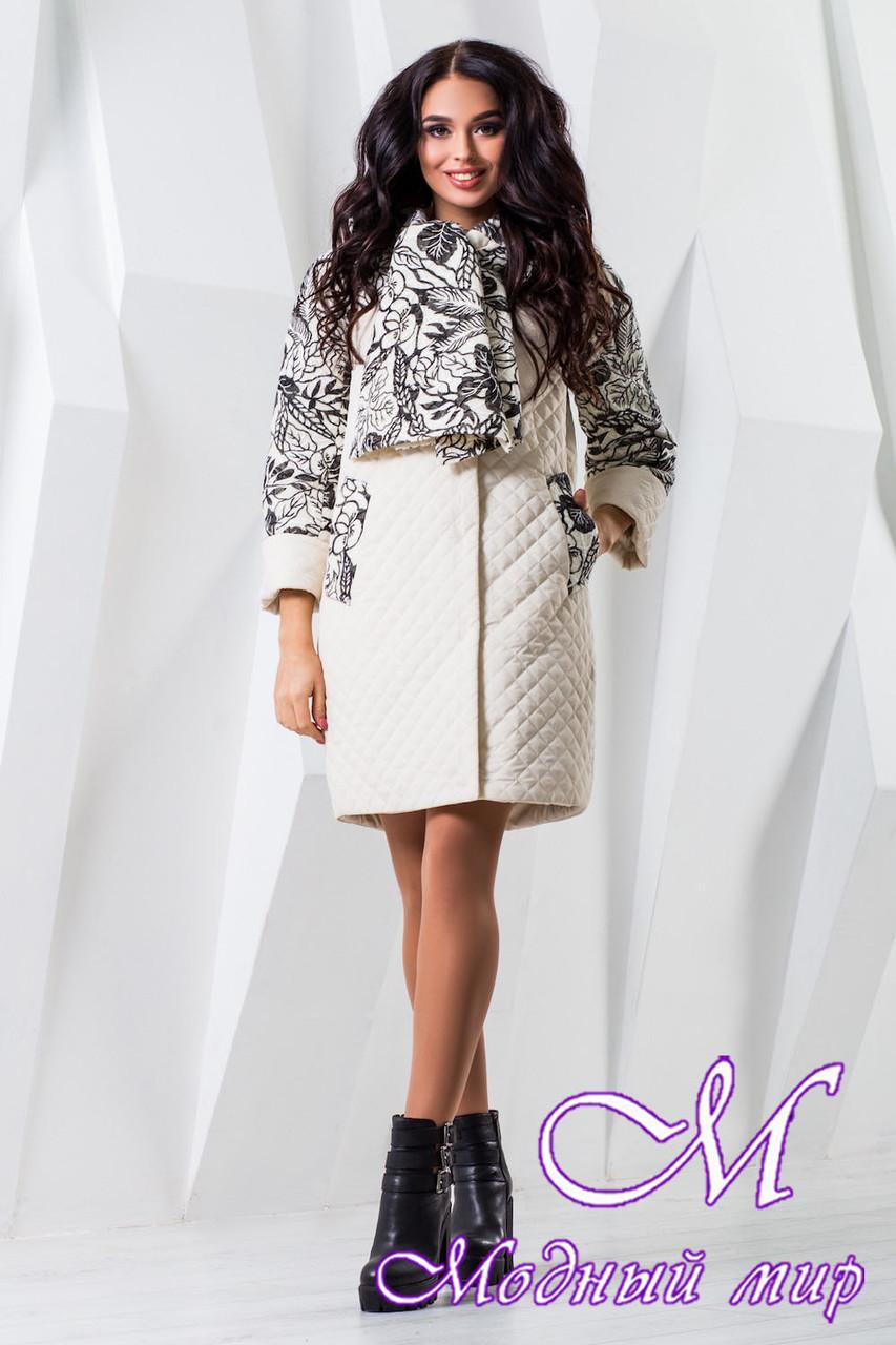Женское модное пальто больших размеров (р. 44-60) арт. 971 Тон 8