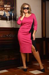 Осенние и весенние платья для полных женщин
