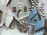 """Пряниковий будиночок з ялинкою і димоходом """"Скоро Новий рік!"""", фото 6"""