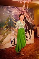 Индивидуальный пошив платья. Наша клиентка Светлана Ромицына.