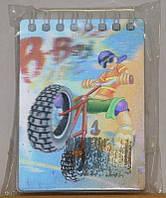 Блокнот для записей стерео ПБМ-01 (4 вида) Vladi Toys