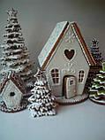 Пряниковий будиночок на Новий рік, Різдво, фото 2