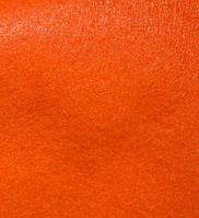 Фетр 101 оранжевый 40х45 см толщина 1.4 мм
