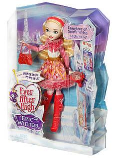 Кукла эвер афтер хай Эппл Вайт Эпическая зима Apple White Epic Winter Matte