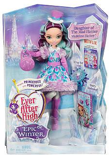 Кукла эвер афтер хай Мэделин Хэттер Эпическая зима Madeline Hatter Epic Winter