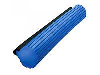 Губка синяя  PVA  34 см для  швабры с отжимом
