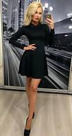 Платье молодежное, черное