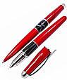 "Набір ручок ""Gianni Terra"" кулькова і перова, ""RED WITH BLACK"" HH9030/B-F(red), фото 2"