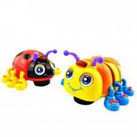 Детская развивающая игрушка Веселые жучки М 82721