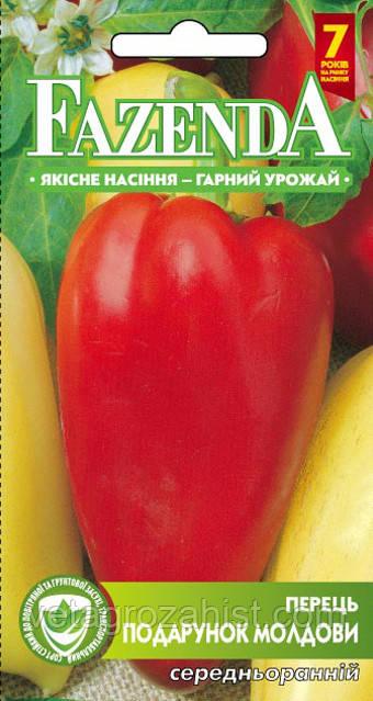 Перец Подарок Молдовы 0,3 г красный среднеранний