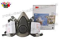 Респиратор,полумаска 3M6200 М+фильтра 3M 6035 P3 (комплект)