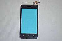 Оригинальный тачскрин / сенсор (сенсорное стекло) для Huawei Ascend Y3c   Y336 (черный цвет) + СКОТЧ