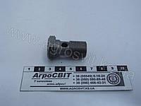 """Болт-штуцер BSP 3/8"""" х 30 (под 1 наконечник) дюймовый, Ф80-3407201"""