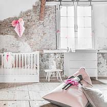 Люлька кроватка (колыбель) Maja Bellamy 90х40см для новорожденных + Матрасик HygienAir Alvi 40х90см, фото 2