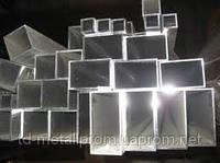 Труба алюминиевая профильная прямоугольная 20х10 мм х1 ; 1,5 ; 2 мм АД31 цена купить на складе порезка доставк