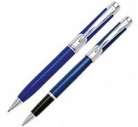 """Оригинальный набор ручка шариковая + роллер """"Pierre Cardin"""" PC0845BP/RP Синий"""