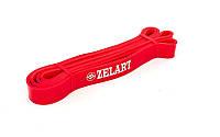 Резинка для подтягиваний 10-40 кг  ( лента сопротивления) мощность S красная