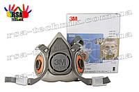 3M 6200Защитная полумаска,респиратор зм серии 6000, 3M 6200
