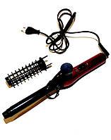 Плойка щетка для волос Sonix ST18, диаметр 19 мм, 2 режима работы, 1 насадка, терморегулятор