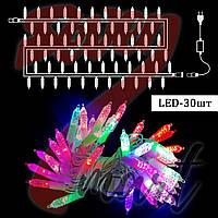 Гирлянда светодиодная шишки малые, 40 LED