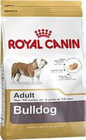 Роял Канин для Английских бульдогов от 12 мес.(Royal Canin Bulldog Adult) 12 кг.