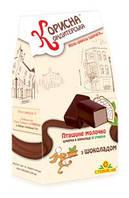 Конфеты в шоколаде «птичье молоко с шоколадом» со стевией, 150г