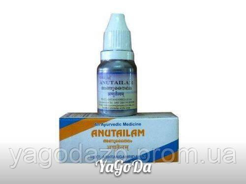 Ану Тайлам (Sri Sri Anu Tailam) - масло для носа