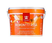 Краска латексная TIKKURILA REMONTTI-ASSA интерьерная, А-белая, 2,7л