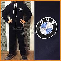 Детский утепленный костюм BMW с вышивкой эмблемой БМВ