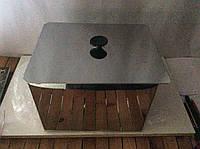 Коптильня для горячего копчения 1-ярусная 250х250х130мм