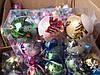 Игрушка новогодняя шар 8 см 6 шт 6 цв