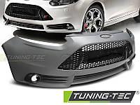 Передний бампер тюнинг обвес Ford Focus MK3 в стиле ST