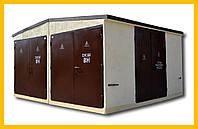 Комплектные трансформаторные подстанции в бетонном корпусе БКТП (LE-БТП) 100…2500/10(6)/0,4-LE У1