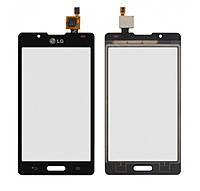 Сенсор (тачскрин) LG P710 Optimus L7 II/P713/P714 Black