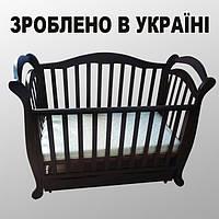"""Детская кроватка """"Джоанна"""" ольха"""