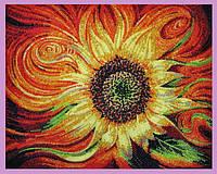 Набор для вышивания бисером Огненный цветок P-277