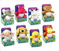Ночник мягкая игрушка (8 видов)