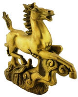 Статуэтка лошадь из бронзы 230х160х50