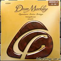 Струны Dean Markley Vintage Bronze 2004A Med. Light 12-54, фото 1