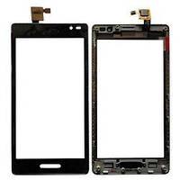 Сенсор (тачскрин) LG P760 Optimus L9/P765/P768 Black