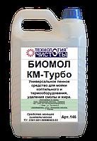 Универсальное пенное средство для мойки коптильного и термооборудования Биомол КМ-Турбо