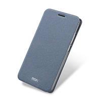 Кожаный чехол-книжка MOFI для Meizu M3s mini.