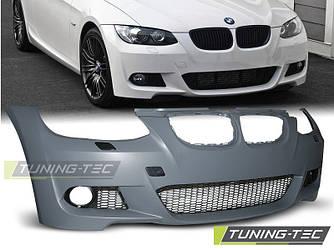 Передний бампер тюнинг обвес BMW E92 E93 стиль M Sport Paket
