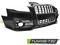 Бампер передний тюнинг обвес Audi A4 B7 в стиле S-line