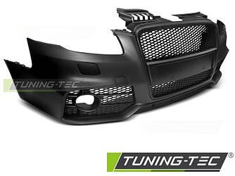 Бампер передний тюнинг обвес Audi A4 B7 в стиле RS