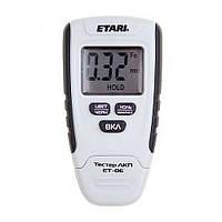 Толщиномер ET 06 для проверки покрытий черных и цветных металлов, 0-1,25мм, от -5°С до +40°С