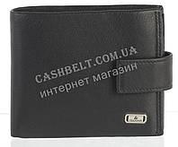 Прочный стильный кожаный мужской кошелек из мягкой кожи Loui Vearner art. LOU84-591A черный