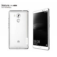 TPU чехол Nillkin Nature для Huawei Mate 8 (Бесцветный)