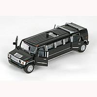 Автомодель - ЛИМУЗИН (черный, свет, звук) - SL-971WB