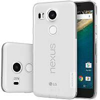 TPU чехол Nillkin Nature для LG Google Nexus 5x (Бесцветный)